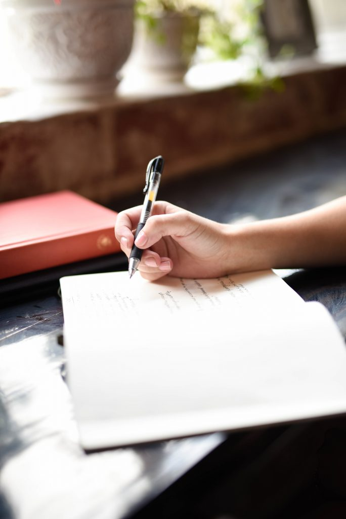 Five journal prompts to help start the new month on the right track