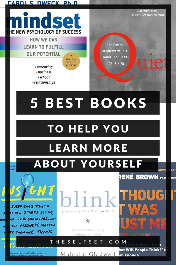 five best psychology books to help you learn more about yourself