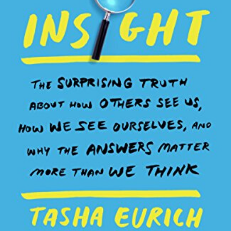 insight the way we see ourselves and self-awareness psychology book by Tasha Eurich