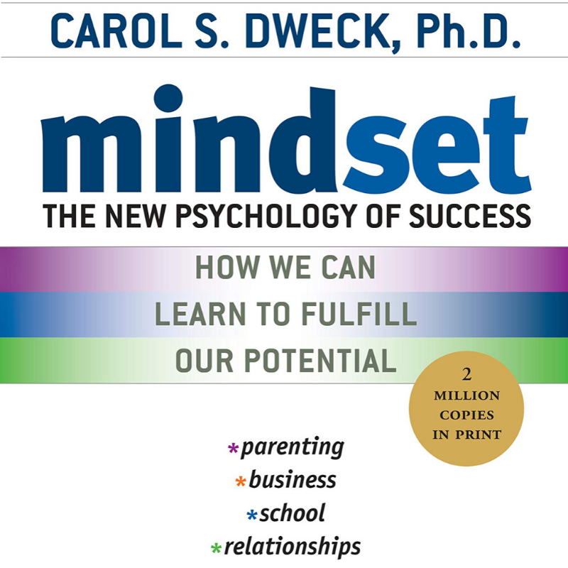 mindset psychology of success growth self-help book by Carol Dweck
