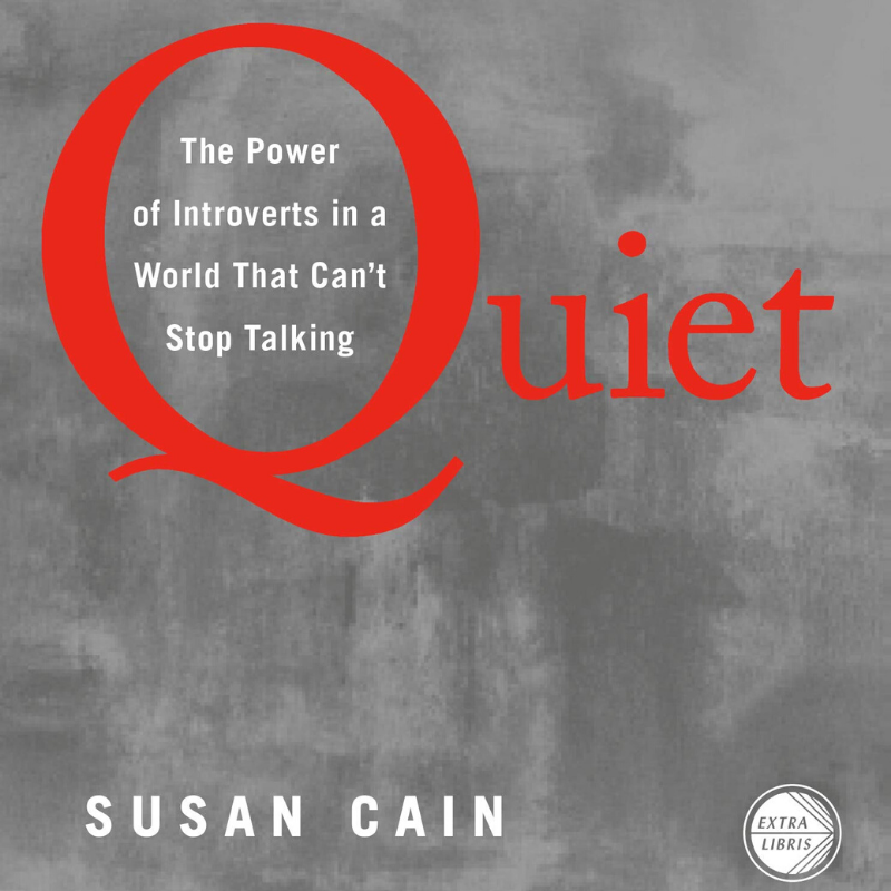 quiet introvert extrovert spectrum psychology book susan cain