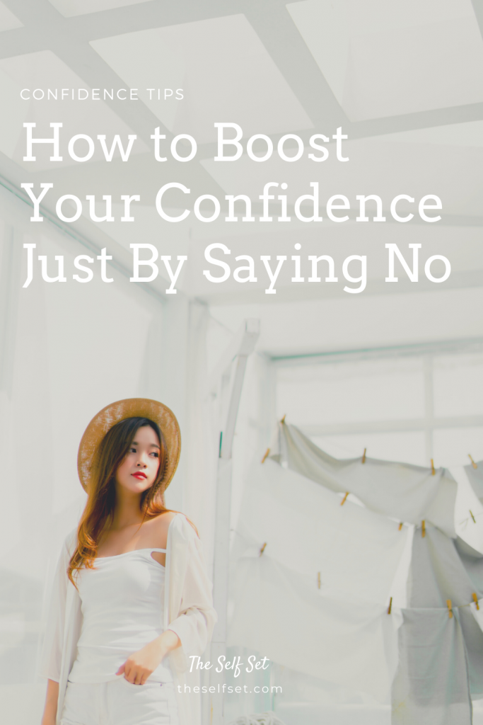 How to boost your confidence and overcome the stress of people-pleasing by saying no