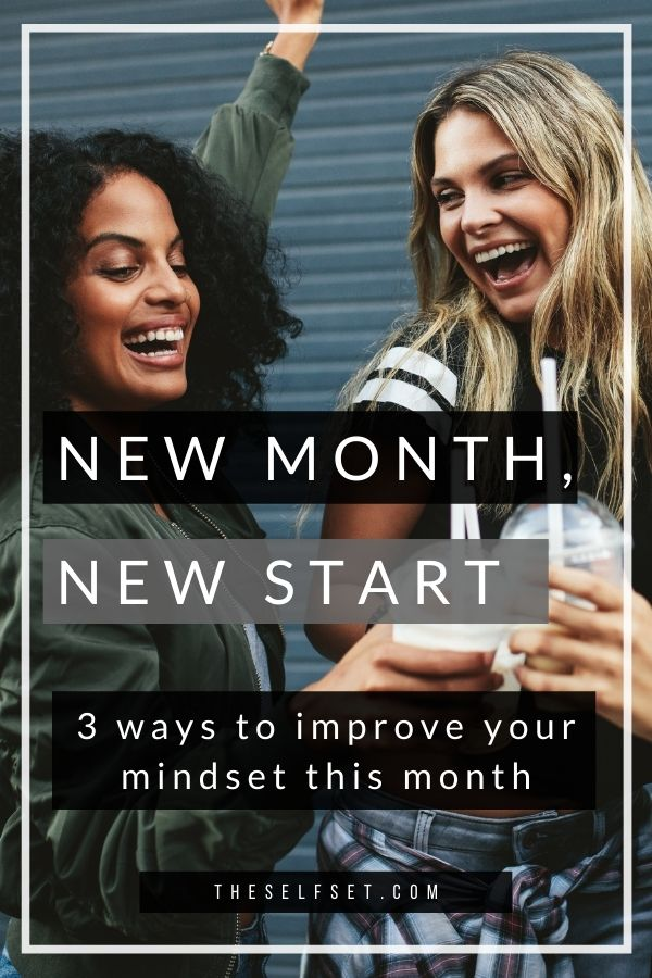 new month new start changes to make this month